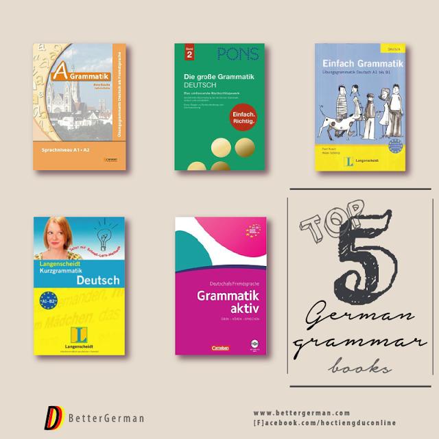Top 5 Quyển Sách Học Ngữ Pháp Tiếng Đức Hữu ích