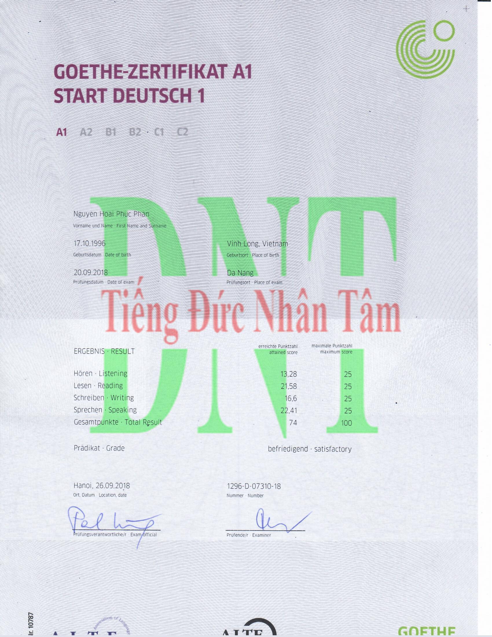 Bằng Phan Nguyễn Hoài Phúc