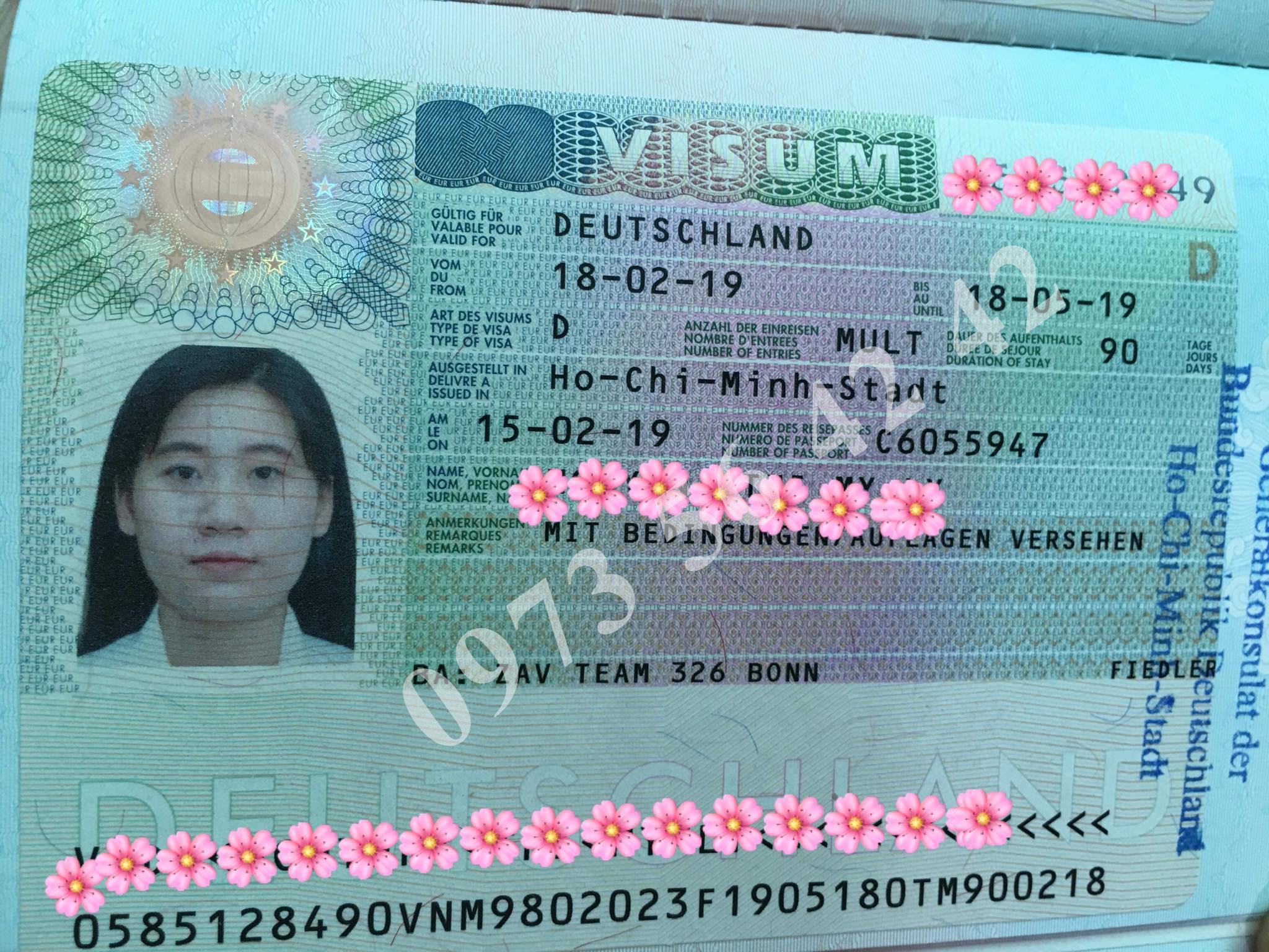 Nguyen Thi My Ly Visa