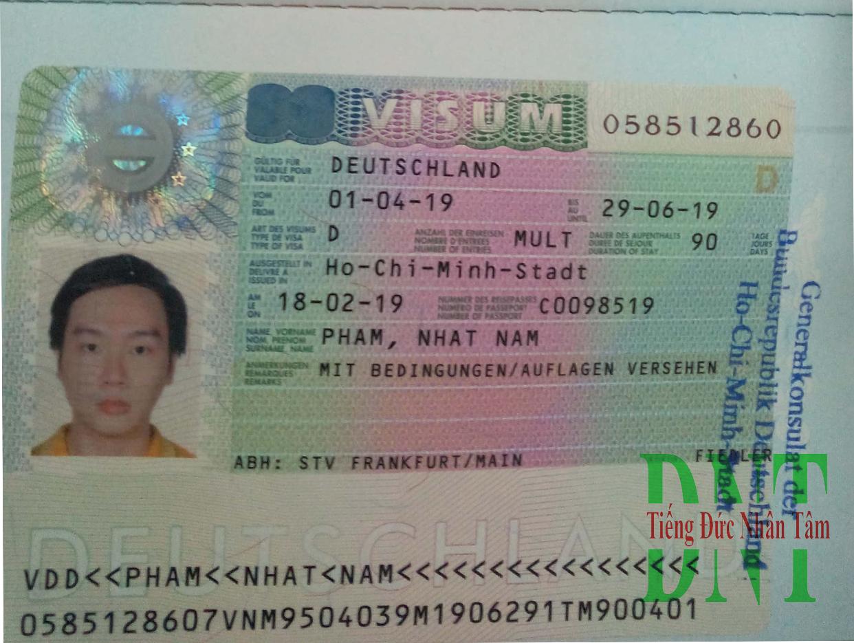 Visa Nhat Nam