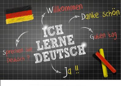 Words Draws Deutsch Theme Ich 260nw 1825467518