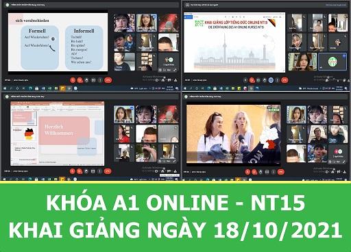 LỚP A1 ONLINE NT15 SÁNG – KHAI GIẢNG NGÀY 18/10/2010